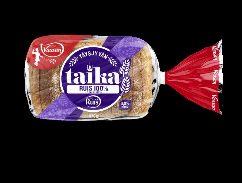 Vaasan TaikaRuis Täysjyväruispaahtoleipä