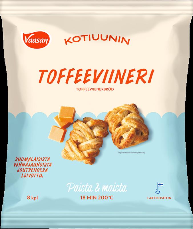 Vaasan Kotiuunin Toffeeviineri pakkaus