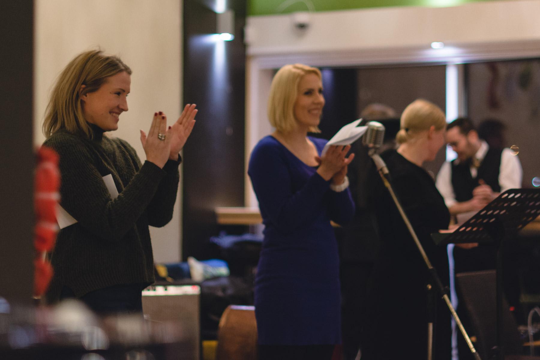 Emilia Åberg ja Maija Ilmoniemi