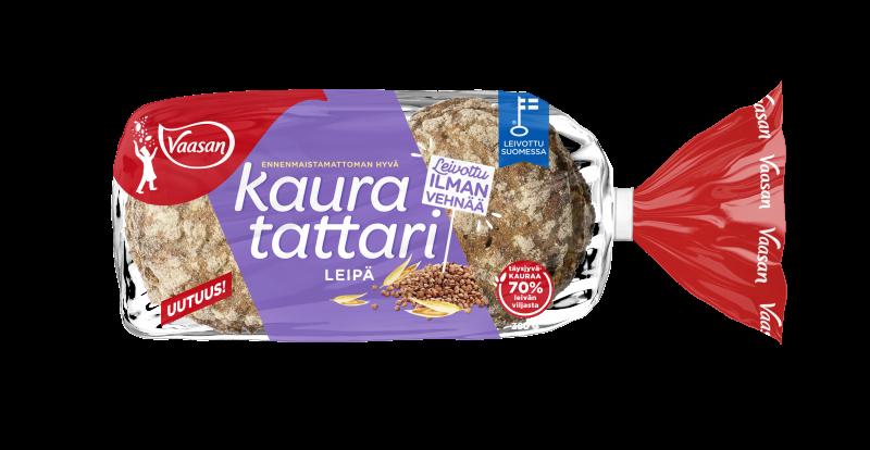 Vaasan Kaura-tattarileipä