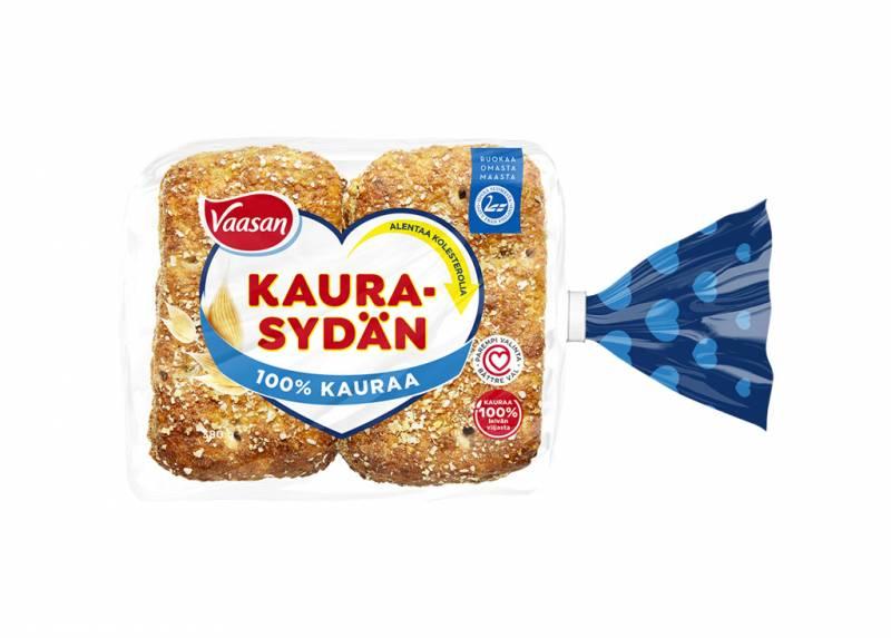 Vaasan kaurasydän leipä